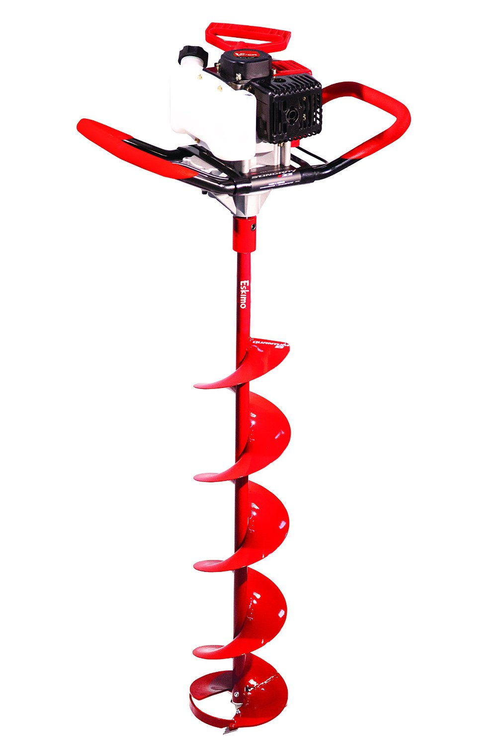 drill powered ice auger